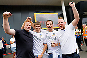 Leeds United fans during the EFL Sky Bet Championship match between Bristol City and Leeds United at Ashton Gate, Bristol, England on 4 August 2019.