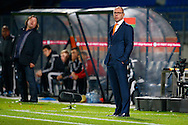 12-11-2015 VOETBAL:JONG ORANJE-JONG WIT RUSLAND:TILBURG<br /> Koning Willem II Stadion EK-kwalificatiewedstrijd<br /> <br /> Jong Oranje coach Fred Grim<br /> <br /> Foto: Geert van Erven