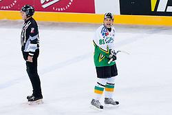 Jure Vnuk during ice-hockey friendly match between legends of HDD Tilia Olimpija and HK Acroni Jesenice, on April 14, 2012 at SRC Stozice, Ljubljana, Slovenia. (Photo By Matic Klansek Velej / Sportida.com)