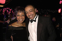 MR & MRS PAUL BOATENG, he is the MP, at a dinner in London on 24th October 2000.OID 69