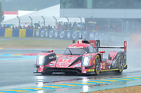 Nicolas Prost (FRA) / Nelson Piquet Jr (BRA) / Nick Heidfeld (DEU) #12 Rebellion Racing Rebellion R-One AER,  during Le Mans 24 Hr June 2016 at Circuit de la Sarthe, Le Mans, Pays de la Loire, France. June 18 2016. World Copyright Peter Taylor/PSP. Copy of publication required for printed pictures.  Every used picture is fee-liable. http://archive.petertaylor-photographic.co.uk