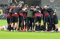 Milano - Serie A 9a giornata - Milan-Juventus - Nella foto: I giocatori del Milan  in gruppo