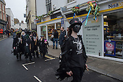MORRIS DANCERS FROM EASTBOURNE, Jack in the Green, East Sussex for the May Bank Holiday. 2 May 2016