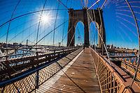 Brooklyn Bridge, New York, New York USA.