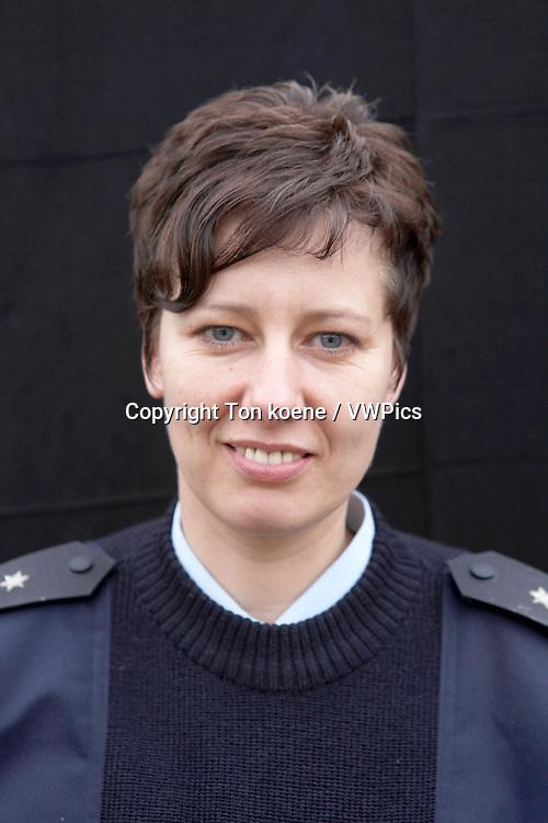 Birgit Riedesel, captian, head police school Kunduz