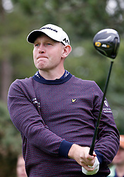 Scotland's Stephen Gallacher on the 3rd tee during day one of the Paul Lawrie Match Play at Archerfield Links, East Lothian. PRESS ASSOCIATION Photo. Picture date: Thursday August 4, 2016. See PA story GOLF Archerfield. Photo credit should read: Jane Barlow/PA Wire. RESTRICTIONS: Editorial use only. No commercial use. No false commercial association. No video emulation. No manipulation of images.