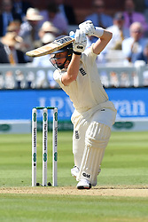 England's Ollie Pope bats during day three of the Specsavers Second Test match at Lord's, London.