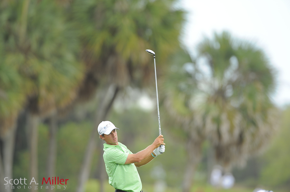 Charles Howell III during the second round of the World Golf Championship Cadillac Championship on the TPC Blue Monster Course at Doral Golf Resort And Spa on March 9, 2012 in Doral, Fla. ..©2012 Scott A. Miller.