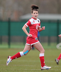 Bristol Academy's Angharad James  - Photo mandatory by-line: Joe Meredith/JMP - Mobile: 07966 386802 - 01/03/2015 - SPORT - Football - Bristol - SGS Wise Campus - Bristol Academy Womens FC v Aston Villa Ladies - Women's Super League