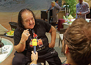 Berlin, Germany - 18 October 2012<br /> Porn star Ron Jeremy promoting his 'Ron Jeremy' brand of rum at the Venus Berlin 2012 adult industry exhibition in Berlin, Germany. Ron Jeremy, born Ronald Jeremy Hyatt, has been an American pornographic actor since 1979. He faces sexual assault allegations which he strenuously denies. There is no suggestion that any of the people in these pictures have made any such allegations.<br /> www.newspics.com/#!/contact<br /> (photo by: EQUINOXFEATURES.COM)<br /> Picture Data:<br /> Photographer: Equinox Features<br /> Copyright: &copy;2012 Equinox Licensing Ltd. +448700 780000<br /> Contact: Equinox Features<br /> Date Taken: 20121018<br /> Time Taken: 12173859