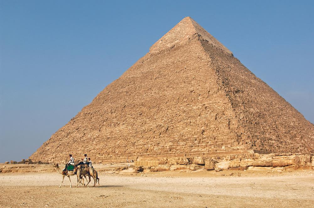 Pyramids of Gizeh, Cairo, Egypt