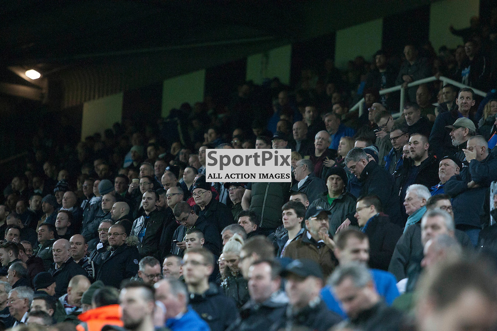 Newcastle fans at the Newcastle v Everton 26 December 2015<br />