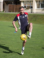 Dundee&rsquo;s Nick Ross - Day 5 of Dundee FC pre-season training camp in Obertraun, Austria<br /> <br />  - &copy; David Young - www.davidyoungphoto.co.uk - email: davidyoungphoto@gmail.com