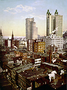 View of New York  with early skyscrapers, c1910.
