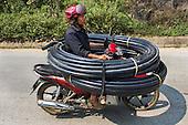 Overloaded Transport in Vietnam