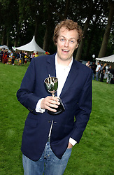 TOM PARKER BOWLES at the 3rd annual Macmillan Dog Day in aid of Macmillan Cancer Relief held at Royal Hospital Chelsea, London SW3 on 5th July 2005.<br /><br />NON EXCLUSIVE - WORLD RIGHTS