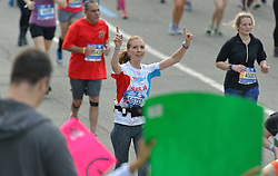 01-11-2015 USA: NYC Marathon We Run 2 Change Diabetes day 4, New York<br /> De dag van de marathon, 42 km en 195 meter door de straten van Staten Island, Brooklyn, Queens, The Bronx en Manhattan / Sasja