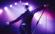 Theo Hutchcraft/Hurts performing live at the Rockhal concert venue in Luxembourg, Europe on November 22, 2013