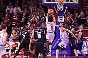 Della Valle Amedeo<br /> Grissin Bon Reggio Emilia - Dolomiti Energia Trentino<br /> Lega Basket Serie A 2017/2018<br /> Reggio Emilia, 03/03/2018<br /> Foto A.Giberti / Ciamillo - Castoria