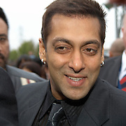 Cineworld Castleford  7 June 2007  IIFA  (International Indian Film Academy)  Bollywood actor Salman Khan at Red Carpet  world premiere of the movie The Train