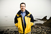 Rick Helm, Sr VP and Portfolio Manager at Cohen & Steers. Photographed in Seattle by Brian Smale, for Barron's Magazine.
