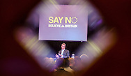 Nigel Farage, Leader of the United Kingdom Independence Party (UKIP) during a press conference to announced UKIP's intention to support the 'No' campaign in the upcoming Euro exit referendum, in Central London, Britain, 30 July 2015. EPA/WILL OLIVER