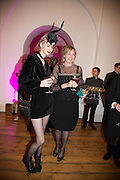 ALEXIA WIGHT; LEONIE GIBBS, Isabella Blow: Fashion Galore! private view, Somerset House. London. 19 November 2013