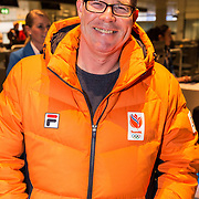 NLD/Amsterdam/20180209 - 538-team van Edwin Evers vertrekt naar de  Olympische Spelen, Rick Romijn
