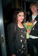 MEERA SYAL, Party after the opening of  A Memory, A Monologue, A Rant, and A Prayer  at Century Club.  Restless Buddha's fundraising event helping women around the world. All proceeds raised from the sale of tickets go to Women for Women International, V-Day and Domestic Violence Intervention Project. 26 March 2012