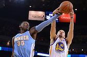 20140410 - Denver Nuggets @ Golden State Warriors