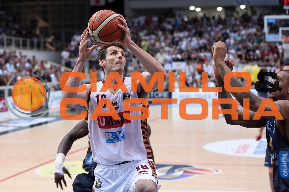 Benjamin Ortner<br /> Dolomiti Energia Aquila Basket Trento - Umana Reyer Venezia<br /> Lega Basket Serie A 2016/2017<br /> Playoff, finale gara 3<br /> Trento, 14/06/2017<br /> Foto M.Ceretti / Ciamillo-Castoria