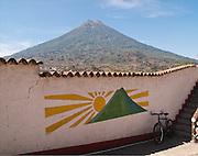 Volcano del Acqua, Antigua, Guatemala.