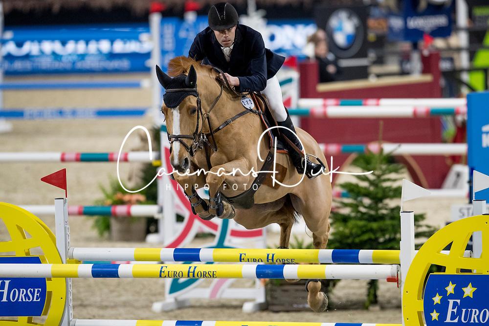 Leemans Thomas, BEL, Gracchus DM<br /> Jumping Mechelen 2019<br /> © Hippo Foto - Sharon Vandeput<br /> 28/12/19
