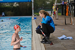 Triathlon Europe Swim Session, 21st May 2012, Richmond Pools on the Park