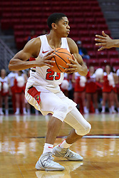 22 November 2017:  William Tinsley during a College mens basketball game between the Quincy Hawks and Illinois State Redbirds in  Redbird Arena, Normal IL
