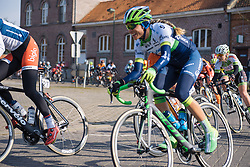 Tayler Wiles racing with her new team Orica-AIS - 2016 Omloop van het Hageland - Tielt-Winge, a 129km road race starting and finishing in Tielt-Winge, on February 28, 2016 in Vlaams-Brabant, Belgium.