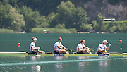 Aiguebelette, FRANCE.   GBR M4- Gold Medallist left  to right,  Alex GREGORY, Mo SBIHI, George NASH and Andy TRIGGS HODGE.   2014 FISA World Cup II, 12:08:57  Sunday  22/06/2014. [Mandatory Credit; Peter Spurrier/Intersport-images]