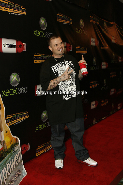 Paul Wall on the red carpet of the Big Easy Billiard' Bash a celebrity pool tournament and party hosted by NFL Superstar Reggie Bush and NBA Superstar (SHAQ) Shaquille O'Neal at the Hilton Riverside Hotel in New Orleans, Louisiana on February 15th 2008.