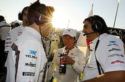 13.11.2011, Yas-Marina-Circuit, Abu Dhabi, UAE, Grosser Preis von Abu Dhabi, im Bild Kamui Kobayashi (JPN), Sauber F1 Team  // during the Formula One Championships 2011 Large price of Abu Dhabi held at the Yas-Marina-Circuit, 2011/11/13. EXPA Pictures © 2011, PhotoCredit: EXPA/ nph/ Dieter Mathis..***** ATTENTION - OUT OF GER, CRO *****