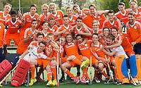 UTRECHT - Hockey - Teamfoto Nederlands Jongens A. FOTO KOEN SUYK