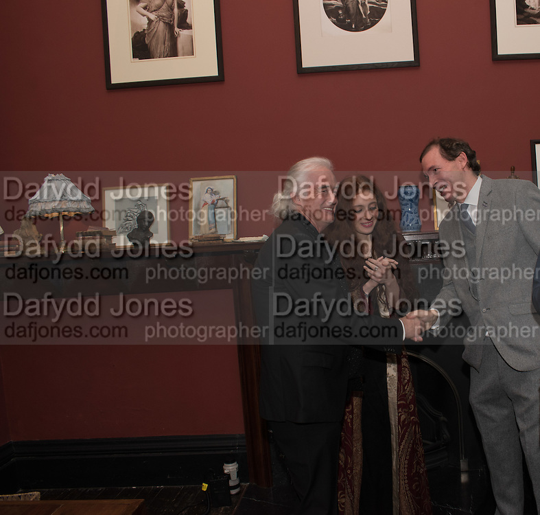 JIMMY PAGE; SCARLETT SABET; DANIEL ROBBINS Flaming June, The Making of an Icon, Leighton House Museum.  3 November 2016