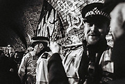 Police at Freedom to Party Protest, Shoreditch, London, 2016