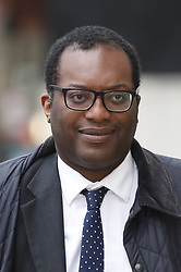 © Licensed to London News Pictures. 12/03/2019. London, UK. Brexit Minister Kwasi Kwarteng is seen near Parliament ahead of the meaningful vote on the Brexit withdrawal agreement in The House of Commons later. Photo credit: Peter Macdiarmid/LNP