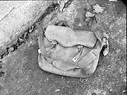 Philip Cairns Disappearance..1986..30.10.1986..10.30.1986..30th October 1986..On 23rd October 1986,schoolboy,Philip Cairns disappeared. He was returning to school after lunch but never arrived. A week later his schoolbag was found in an alleyway close to his home in Rathfarnham. It was suspected that his abductor left the bag in order to dispose of evidence and to confuse the Garda investigation. Rumour was rife that Philip had fallen into the clutches of a paedophile ring who may have killed him to cover their tracks..Up to 2012 the disappearance of philip Cairns still remains a mystery. today he would be aged about forty...Image of the bag which is said to be that of the abducted schoolboy Philip Cairns..