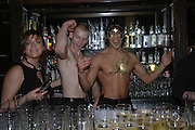 Cafe de Paris 80th birthday party. Coventry St. London 26 October 2005. October 2005. ONE TIME USE ONLY - DO NOT ARCHIVE © Copyright Photograph by Dafydd Jones 66 Stockwell Park Rd. London SW9 0DA Tel 020 7733 0108 www.dafjones.com