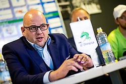 Miha Butara, president of HK SZ Olimpija at press conference of HK SZ Olimpija before new season 2020-21, on June 22, 2020 in Hala Tivoli, Ljubljana, Slovenia. Photo by Matic Klansek Velej / Sportida