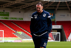 Bristol Rovers manager Graham Coughlan arrives at Doncaster Rovers - Mandatory by-line: Robbie Stephenson/JMP - 19/10/2019 - FOOTBALL - The Keepmoat Stadium - Doncaster, England - Doncaster Rovers v Bristol Rovers - Sky Bet League One
