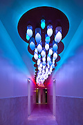 'Cloud', an interactive lighting display, custom-designed by Focus Lighting