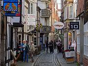 Historisches Stadtviertel Schnoor, Bremen, Deutschland