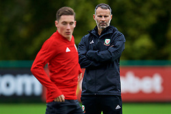 CARDIFF, WALES - Monday, October 8, 2018: Wales' manager Ryan Giggs during a training session at the Vale Resort ahead of the International Friendly match between Wales and Spain. (Pic by David Rawcliffe/Propaganda)